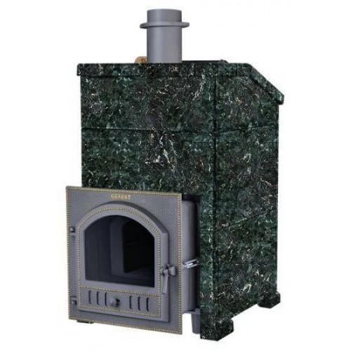 Чугунная банная печь Комплект GFS ЗК 18(П) Президент 850/40 Серпентинит