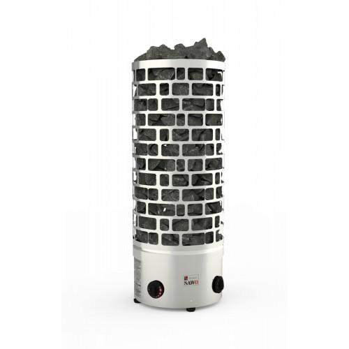 Электрическая печь SAWO ARIES ARI3-45NB-P (4,5 КВТ, ВСТРОЕННЫЙ ПУЛЬТ, НЕРЖАВЕЙКА)