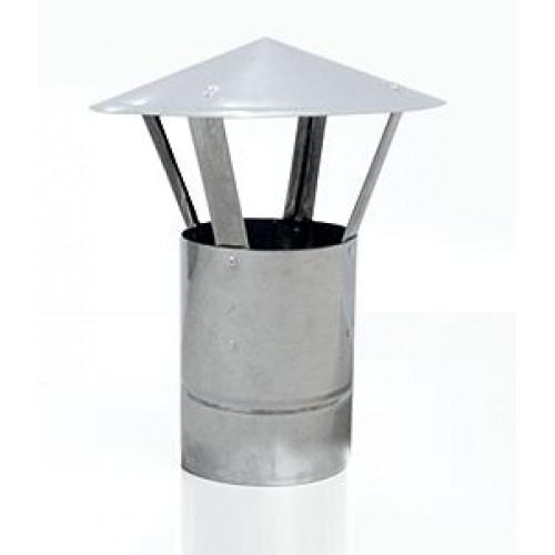 Флюгарок печной конический AISI 439 для дымохода из нержавеющей стали