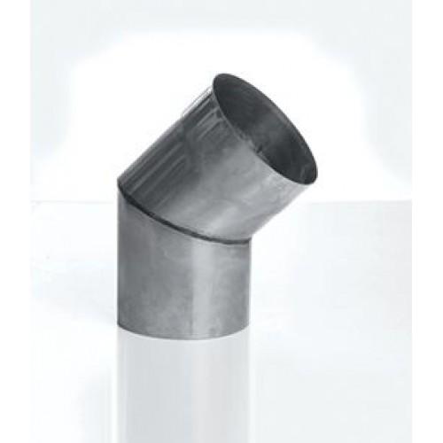 Отвод 45° (2-х сегм) AISI 439 для дымохода из нержавеющей стали