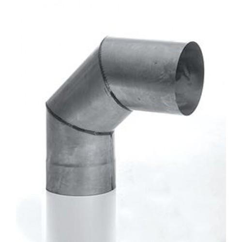 Отвод 90° (3-х сегм) AISI 439 для дымохода из нержавеющей стали