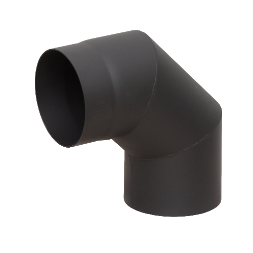 Отвод КПД 90 градусов сталь 2 мм.