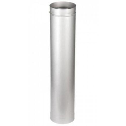 Труба 1Т 1000 мм AISI 321 для дымохода из нержавеющей стали